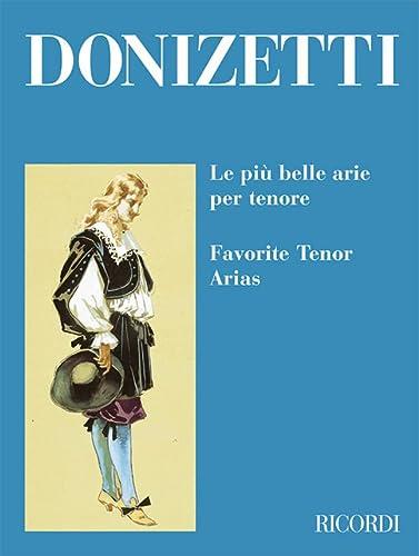 9780041398748: RICORDI DONIZETTI G. - PIU' BELLE ARIE PER TENORE Classical sheets Tenor, piano