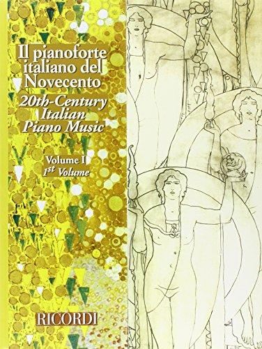 9780041398762: IL PIANOFORTE ITALIANO DEL NOVECENTO - VOL.I