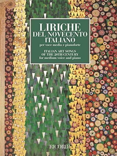 9780041398922: RICORDI LIRICHE DEL NOVECENTO ITALIANO - CHANT ET PIANO Classical sheets Voice solo, piano