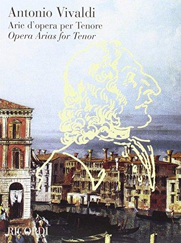 9780041399486: Partitions classique RICORDI VIVALDI A. - ARIE D'OPERA PER TENORE Voix solo, piano