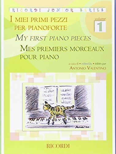 9780041400915: Partitions classique RICORDI VALENTINO ANTONIO - MES PREMIERS MORCEAUX POUR PIANO VOL.1 Piano