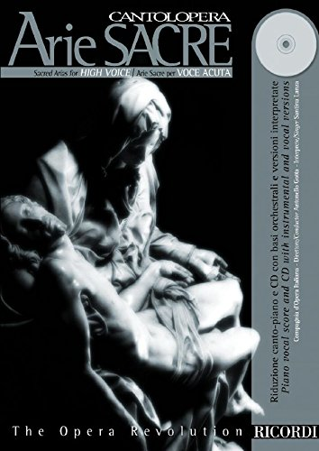 9780041401325: Sacred Arias for High Voice book w/CD (Cantolopera)