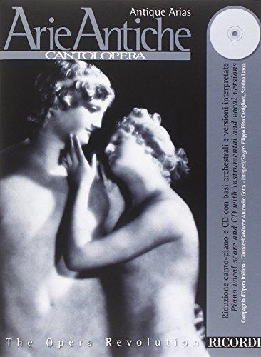 9780041401349: Antique Arias book and CD (Cantolopera)