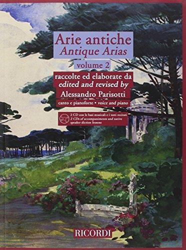 9780041403237: Antique Arias/Arie antiche: Voice and Piano/Canto E Pianoforte: 2