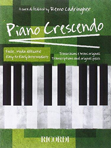 9780041404678: Piano Crescendo: Easy to Early Intermediate/ Facile Media Difficolta (Italian Edition)