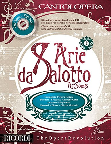 9780041404746: CANTOLOPERA: ARIE DA SALOTTO VOL. 2 (VOCE ACUTA - HIGH VOICE)