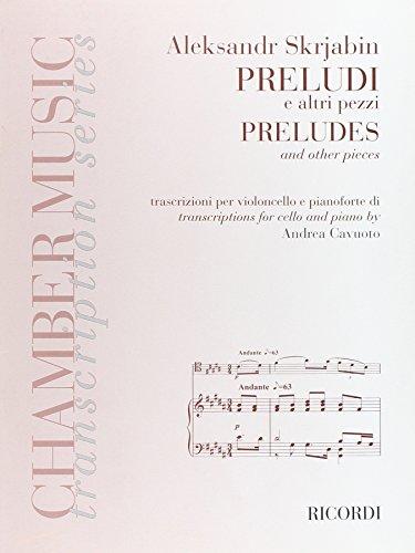 9780041405392: PRELUDI E ALTRI PEZZI - PRELUDES AND OTHER PIECES