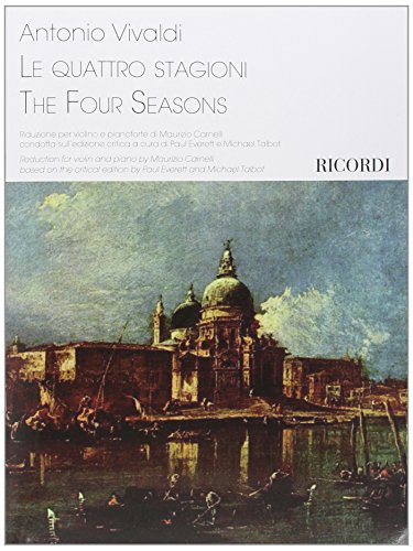 9780041409895: RICORDI VIVALDI A. - THE FOUR SEASONS - VIOLON & PIANO Classical sheets Violin