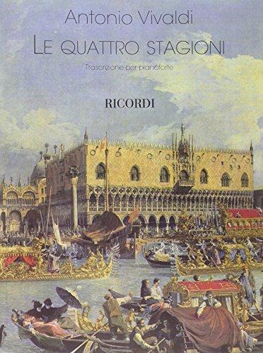 9780041410341: RICORDI VIVALDI A. - THE FOUR SEASONS - PIANO Classical sheets Piano