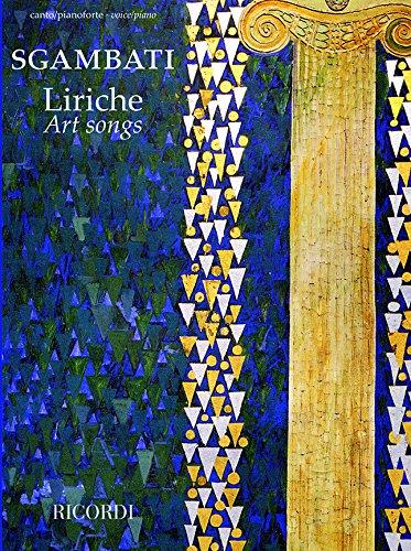9780041411874: LIRICHE - ART SONGS
