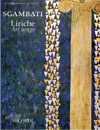 9780041411874: Sgambati - Liriche Art Songs for Voice/piano