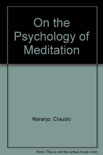 9780041490206: On the Psychology of Meditation