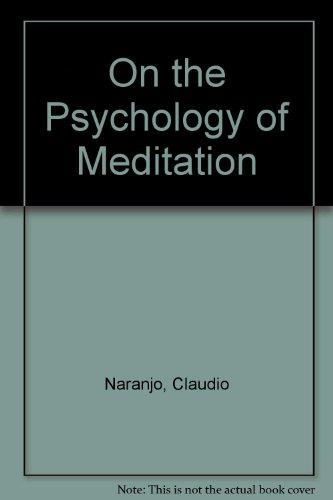 9780041490206: On the Psychology of Meditation