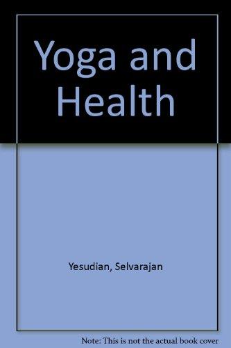 9780041490329: Yoga and Health