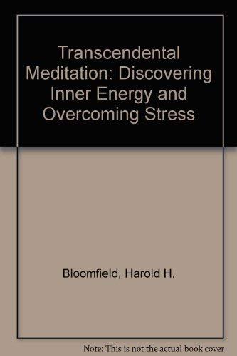 9780041490367: Transcendental Meditation: Discovering Inner Energy and Overcoming Stress