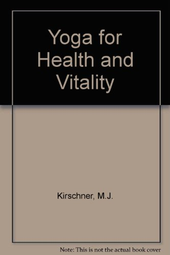 9780041490428: Yoga for Health and Vitality