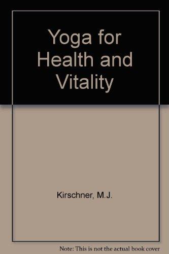9780041490428: Yoga for Health and Vitality (English and German Edition)