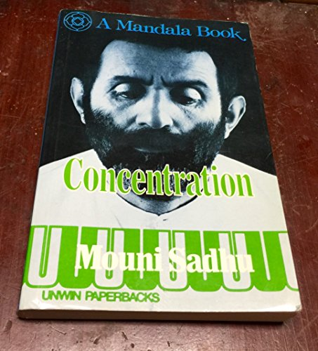 9780041490466: Concentration: An Outline for Practical Study (Mandala Books)