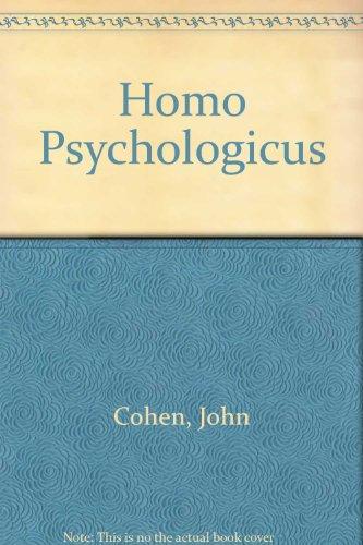 Homo Psychologicus: John Cohen
