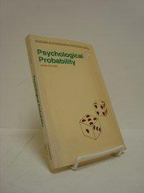 9780041500400: Psychological Probability (Advances in Psychology)