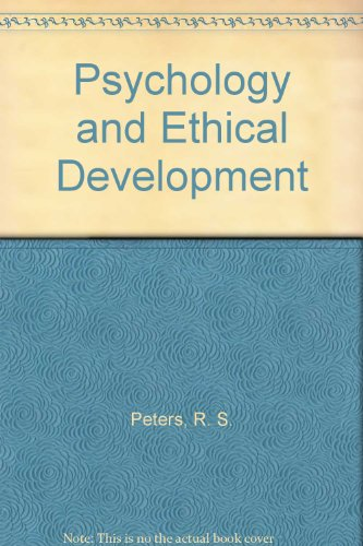 9780041500493: Psychology and Ethical Development