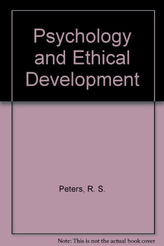 9780041500509: Psychology and Ethical Development