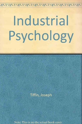 9780041500578: Industrial Psychology