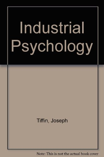 9780041500585: Industrial Psychology