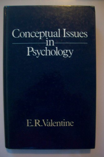9780041500790: Conceptual Issues in Psychology