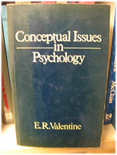 9780041500806: Conceptual Issues in Psychology