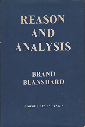 9780041600018: Reason and Analysis
