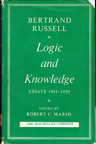 9780041640014: Logic and Knowledge