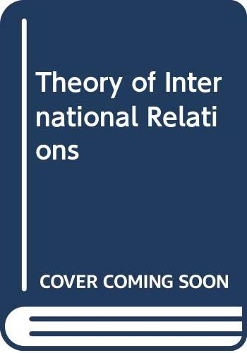 9780041720075: Theory of International Relations