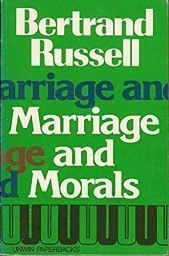 9780041730050: Marriage and Morals