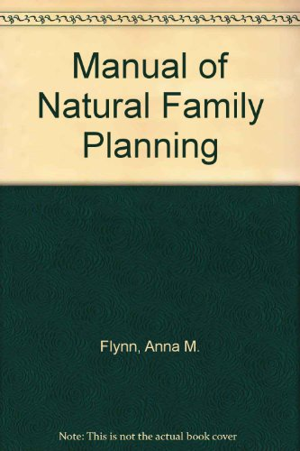9780041760040: Manual of Natural Family Planning