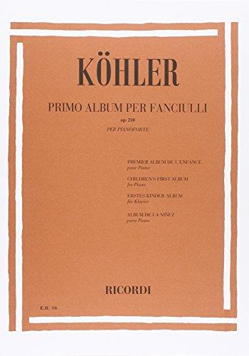 9780041800166: KOHLER L. - Album para Niños Op.210 para Piano