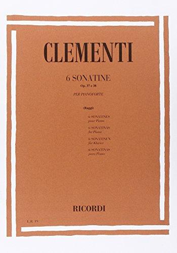 9780041800197: 6 Sonatine Op. 37 E 38 - Piano - SCORE