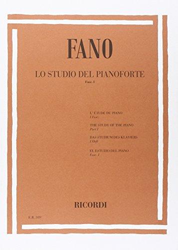 9780041803891: Lo Studio Del Pianoforte