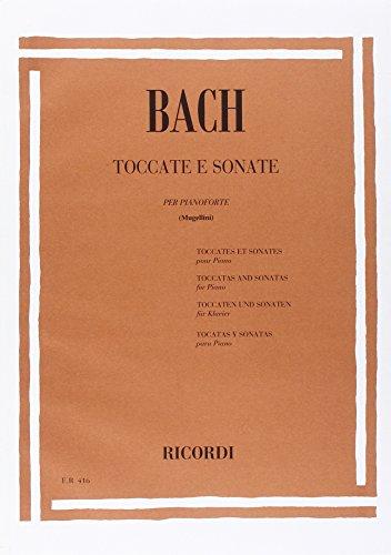9780041804164: BACH - Tocatas y Sonatas para Piano (Mugellini)