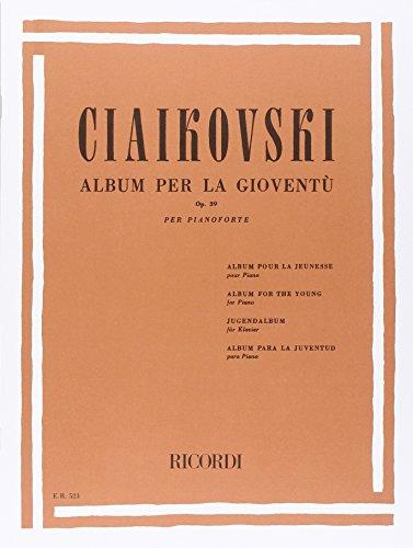 9780041805239: ALBUM PER LA GIOVENTU OP. 39