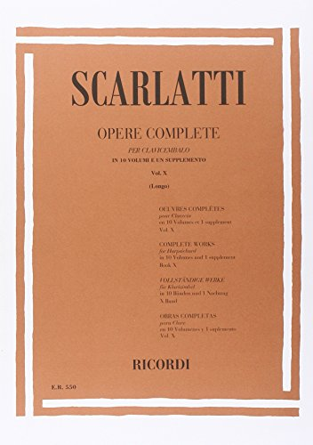 9780041805505: OPERE COMPLETE / SONATE VOL. X