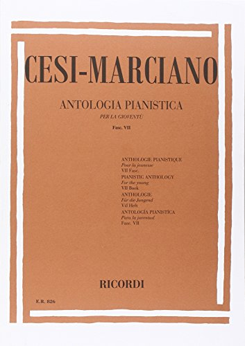 9780041808261: ANTOLOGIA PIANISTICA PER LA GIOVENTU - FASC. VII
