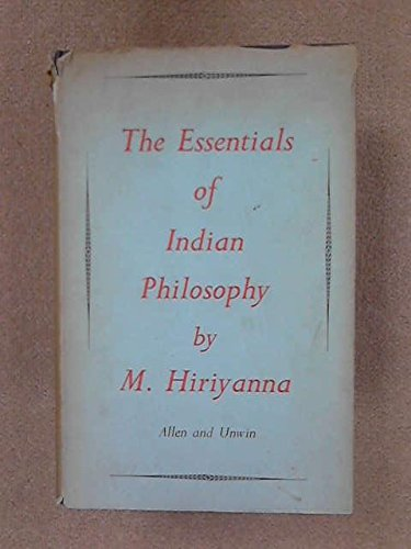 9780041810059: Essentials of Indian Philosophy