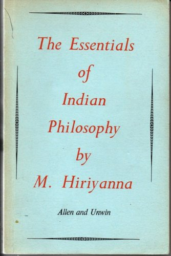 9780041810066: Essentials of Indian Philosophy