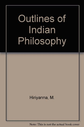 9780041810073: Outlines of Indian Philosophy