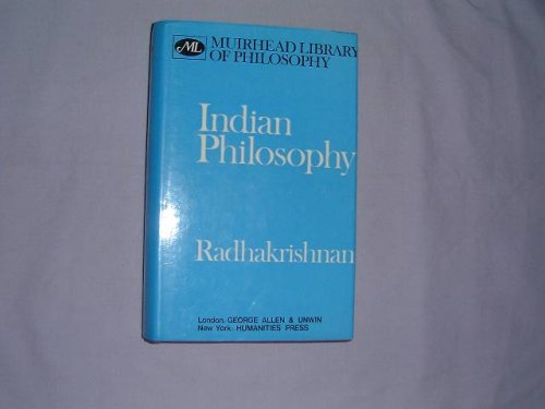 9780041810097: Indian Philosophy, Vol. 1 (Muirhead Library of Philosophy)