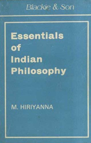 9780041810233: Essentials of Indian Philosophy