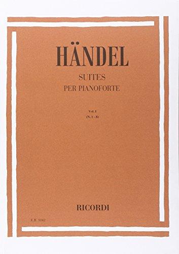 9780041810424: HAENDEL - Suites Vol.1: n� 1 a 8 para Piano