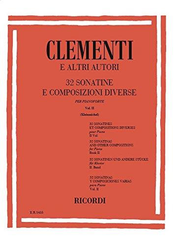 9780041814552: 32 SONATINE E COMPOSIZIONI DIVERSE - VOLUME II