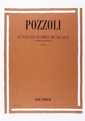 9780041822274: SUNTO DI TEORIA MUSICALE IN FORMA DIALOGATA